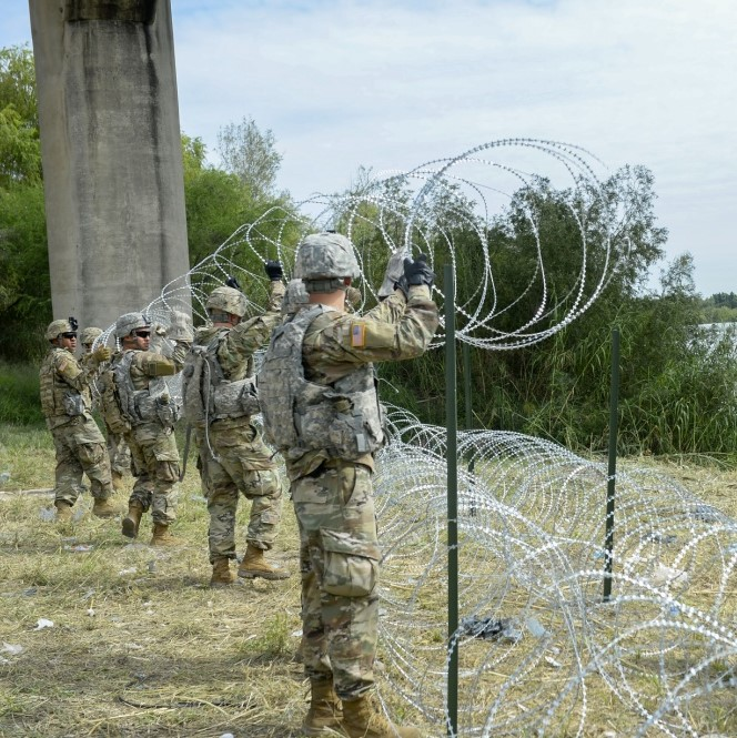 Military Times: Troops Do Not View Immigration as a 'National Emergency.' Not Even Close.