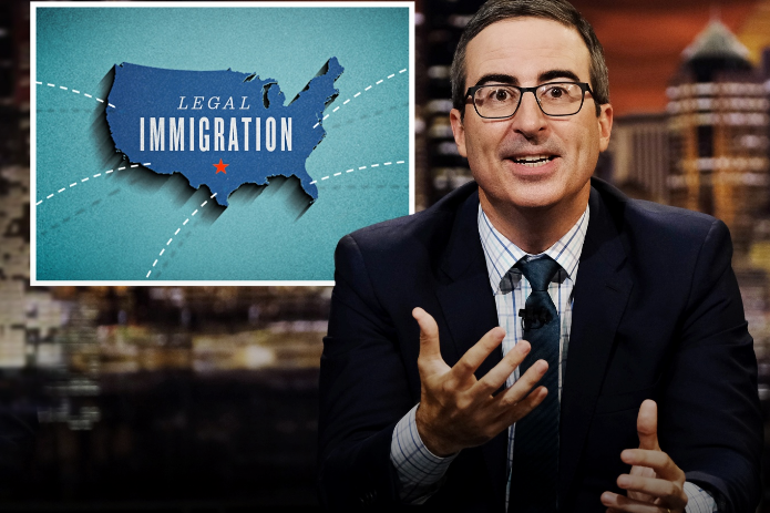 John Oliver Explains Why Immigrants Can't Just 'Get in Line'